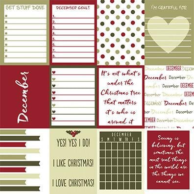 Reminisce Cut-Outs - Plan It Now - December