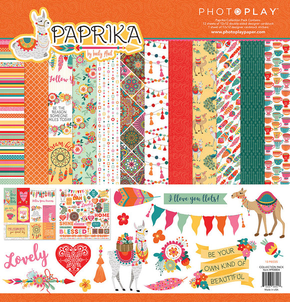 Photo Play Paper Collection Kit - Paprika