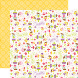 Echo Park Papers - Perfect Princess - Pixie Dust - 2 Sheets