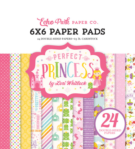 Echo Park 6x6 Pad - Perfect Princess