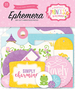 Echo Park Ephemera Die-Cuts - Perfect Princess