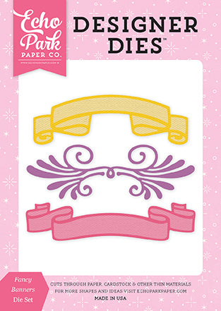 Echo Park Designer Dies - Perfect Princess - Fancy Banners