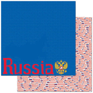Reminisce Papers - Passports - Russia - 2 Sheets