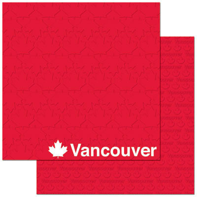 Reminisce Papers - Passports - Vancouver - 2 Sheets