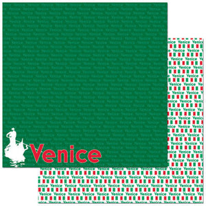 Reminisce Papers - Passports - Venice - 2 Sheets