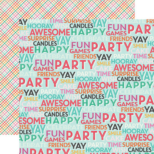 Echo Park Papers - Party Time - Surprise Party - 2 Sheets