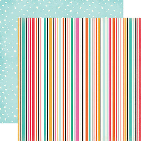 Echo Park Papers - Party Time - Streamers - 2 Sheets