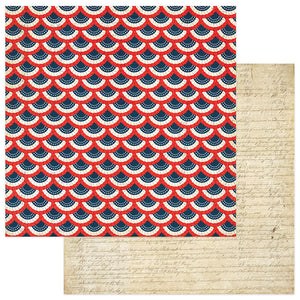 Photo Play Papers - Red, White, & Blue - We the People - 2 Sheets