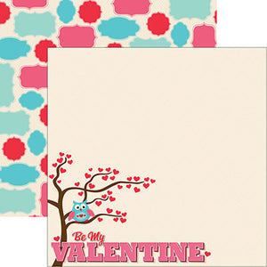 Reminisce Papers - With Love - Be My Valentine - 2 Sheets