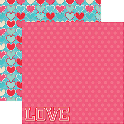 Reminisce Papers - With Love - With Love - 2 Sheets