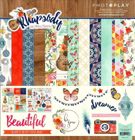 Photo Play Paper Collection Kit - Rhapsody