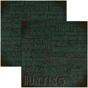 Reminisce Papers - Signature Series - Hunting - Hunting - 2 Sheets