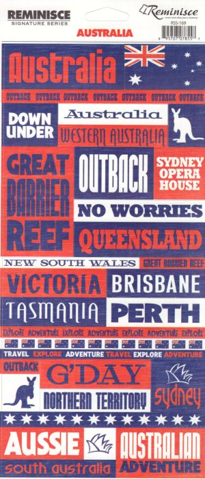 Reminisce Stickers - Australia - Phrases