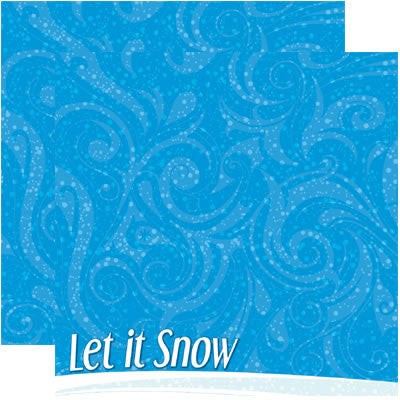 Reminisce Papers - Signature Series - Snowflakes - 2 Sheets