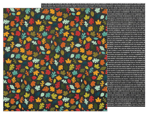 Pebbles Papers - Warm & Cozy - Fall Day - 2 Sheets