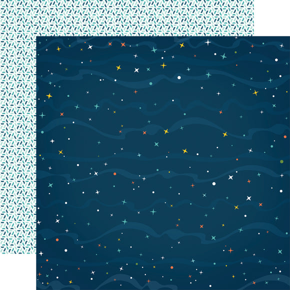 Echo Park Papers - Summer Adventure - Count the Stars - 2 Sheets