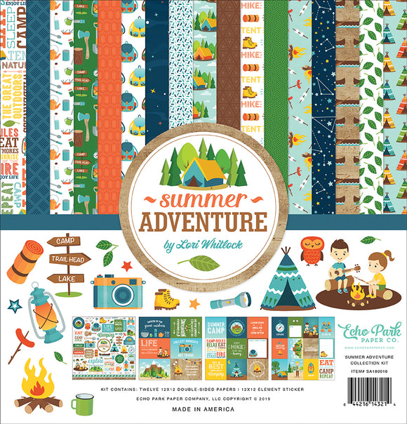 Echo Park Collection Kit - Summer Adventure
