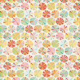 Echo Park Papers - Summer Bliss - Summer Circles - 2 Sheets