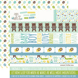 Echo Park Cut-Outs - Sweet Baby - Boy - Border Strips