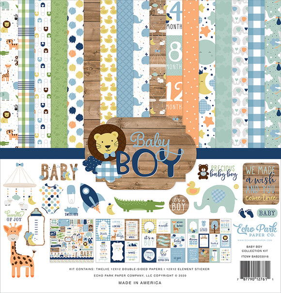 Echo Park Collection Kit - Baby Boy
