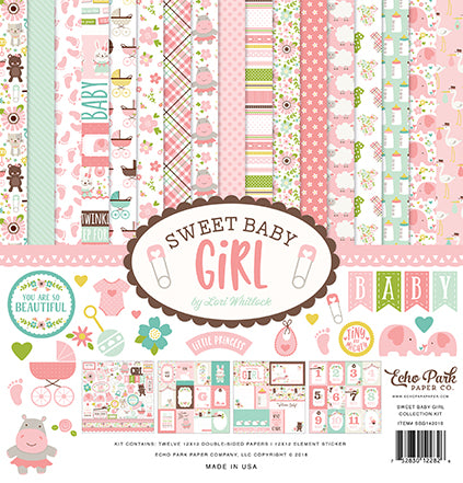 Echo Park Collection Kit - Sweet Baby - Girl