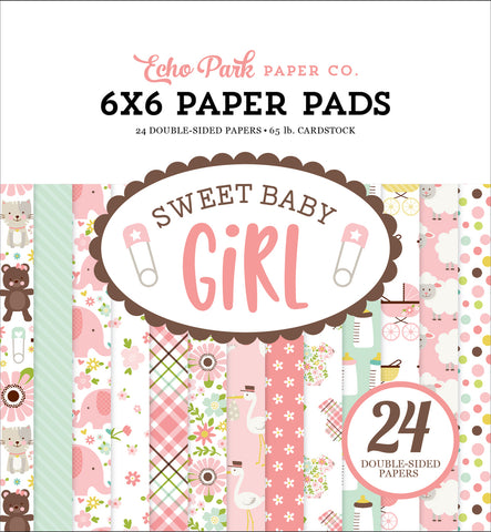 Echo Park 6x6 Pad - Sweet Baby - Girl