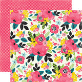Echo Park Papers - Summer Fun - Summer Floral - 2 Sheets