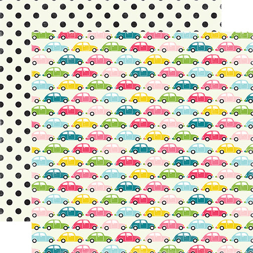 Echo Park Papers - Summer Fun - Summer Road Trip - 2 Sheets