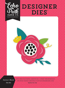 Echo Park Designer Dies - Summer Fun - Summer Bloom - Die Set