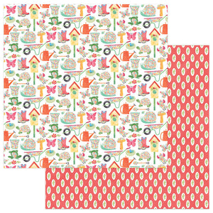 Photo Play Papers - Spring In My Garden - Garden - 2 Sheets