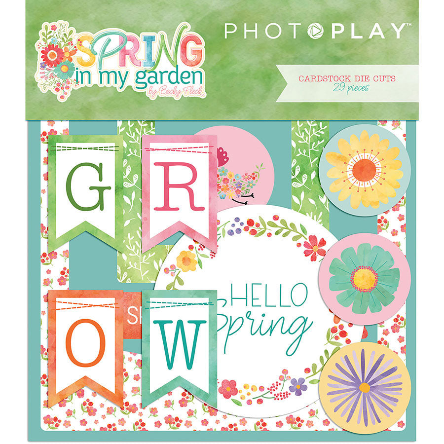 Photo Play Ephemera Die Cuts - Spring In My Garden