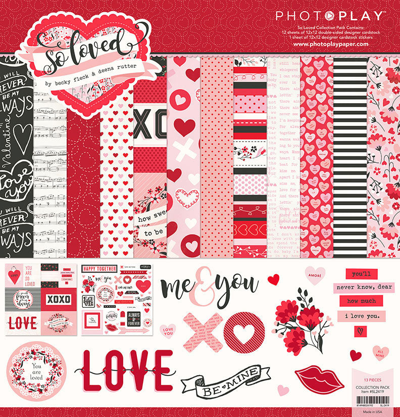Photo Play Paper Collection Kit - So Loved