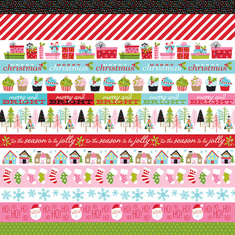 Bella Blvd Cut-Outs - Santa Stops Here - Borders