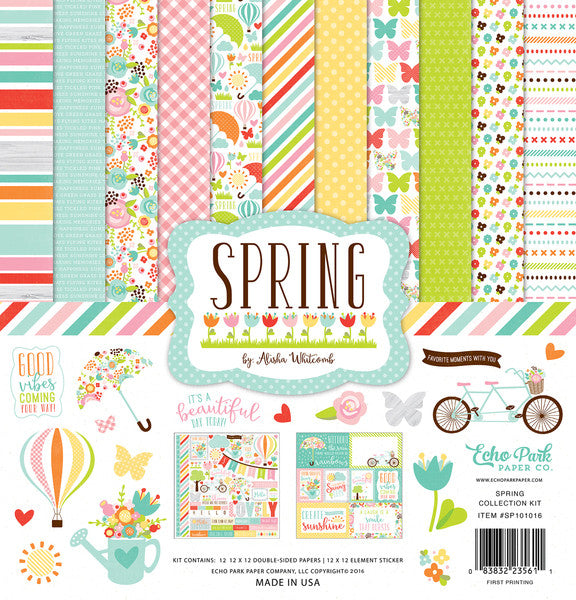Echo Park Collection Kit - Spring