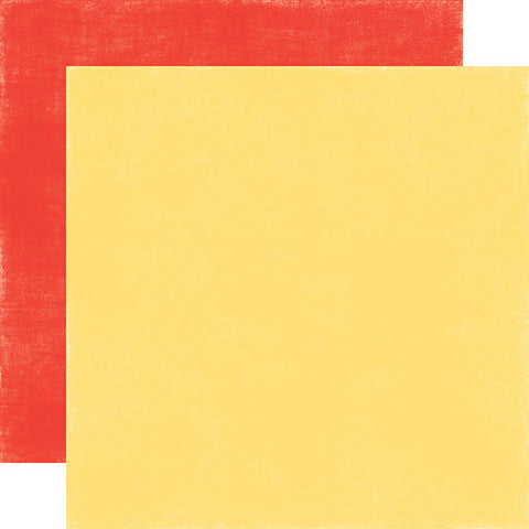 Echo Park Papers - Spring - Yellow/Red - 2 Sheets