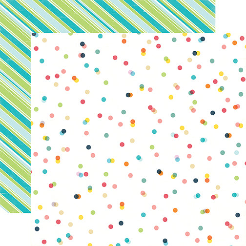Echo Park Papers - Summer Party - Celebrate Summer - 2 Sheets
