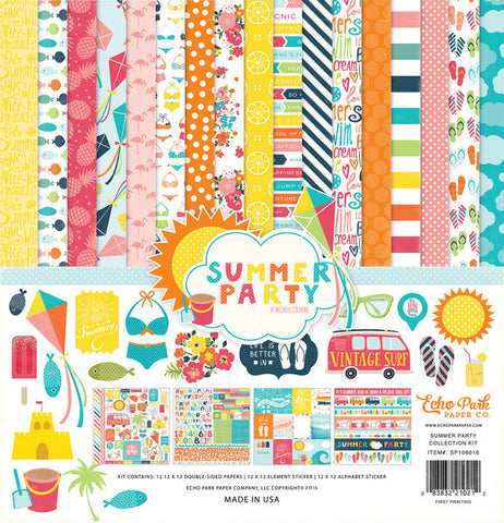 Echo Park Collection Kit - Summer Party