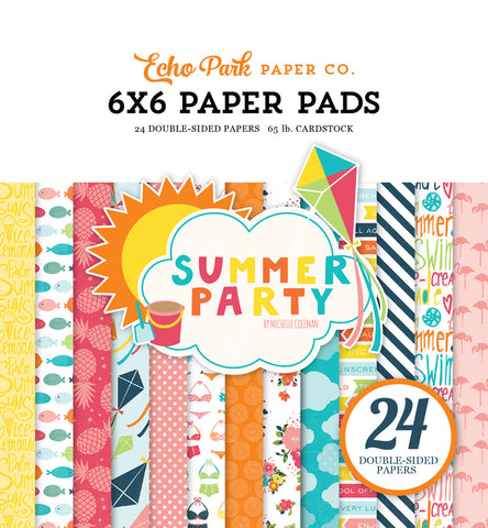 Echo Park 6x6 Pad - Summer Party