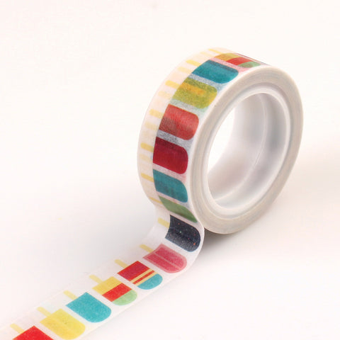 Echo Park Washi Tape - Summer Party - Popsicles