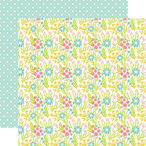 Echo Park Papers - Spring Fling - Spring Bloom - 2 Sheets