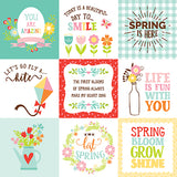 Echo Park Cut-Outs - Spring Fling - 4x4 Journaling Cards