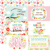 Echo Park Cut-Outs - Spring Fling - 4x6 Journaling Cards