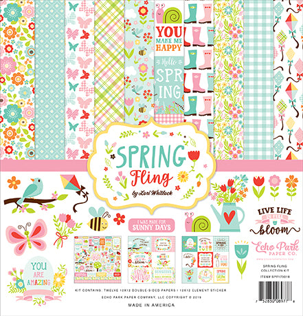 Echo Park Collection Kit - Spring Fling
