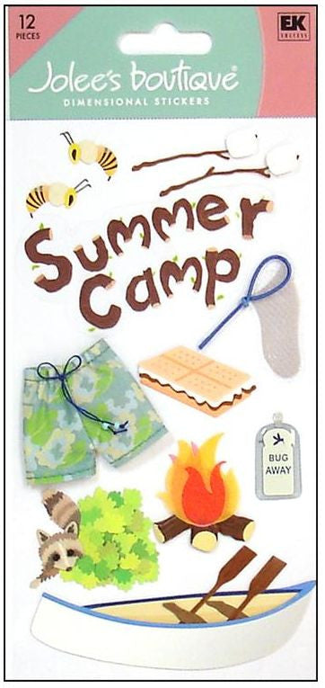 Jolee's Boutique 3D Embellishments - Summer Camp
