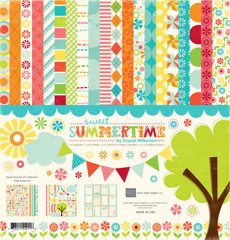 Echo Park Collection Kit - Sweet Summertime