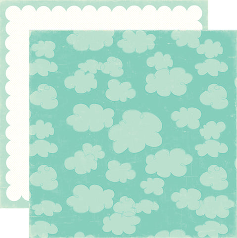 Echo Park Papers - Sweet Summertime - Blue Sky - 2 Sheets