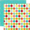 Echo Park Papers - Sweet Summertime - Happy Spots - 2 Sheets
