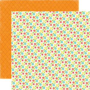 Echo Park Papers - Sweet Summertime - Flower Garden - 2 Sheets