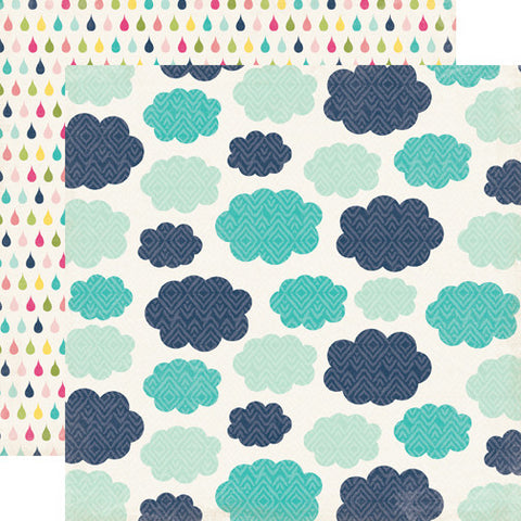 Echo Park Papers - Splendid Sunshine - Rainy Day - 2 Sheets