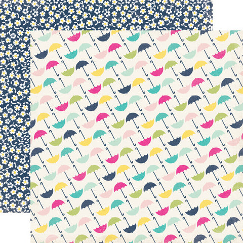 Echo Park Papers - Splendid Sunshine - Umbrella - 2 Sheets